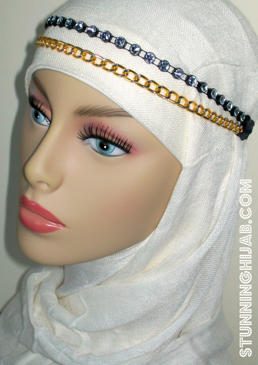 Headbands For Hijab Hijabtrend Headpiece I Love To Accessorise My With Beautiful Pins Broches And It Looks So Great You Can Make A Simple Into Fancy Its
